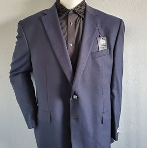 Joseph Abboud Navy Sport Coat 48R New With Tags